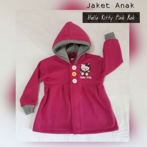 Jaket Anak Hello Kitty Pink Rok